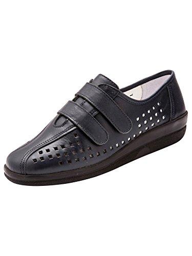 Marino Cordones Zapatos Pediconfort Azul Mujer De xP4PXnz