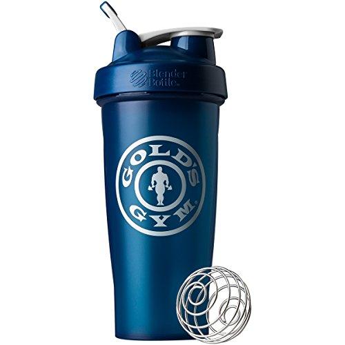 Blender Bottle Gold's Gym Classic 28 oz. Shaker Bottle with Loop Top - Blue