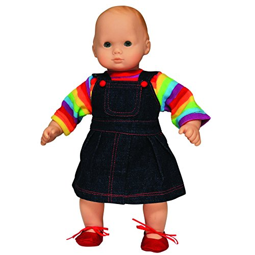 The Queen's Treasures Twin Rainbow Skirt, Doll Clothing Fits 15