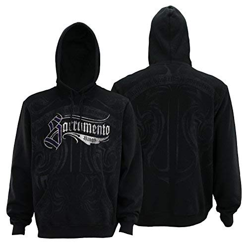 (adidas Sacramento Kings NHL Mens All-Over Print Gothic Hoodie, Black (Black, Large))