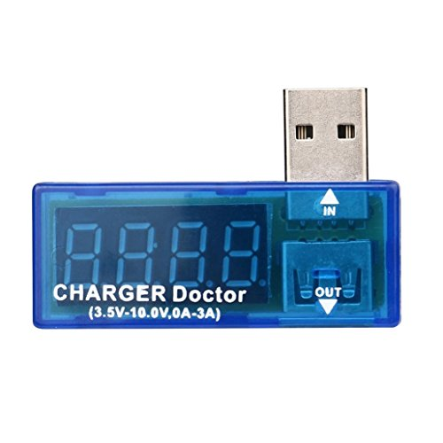 LtrottedJ USB Charger Power Doctor ,Voltage Current Mobile Battery Power Tester New