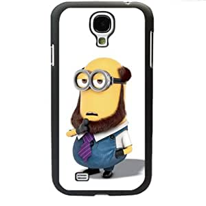 Despicable Me Minions Samsung Galaxy S4 SIV I9500 TPU Soft Black or White case (Black)