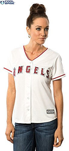 Los Angeles Angels of Anaheim MLB Women's Cool Base Home Jersey (Plus 4X) – DiZiSports Store