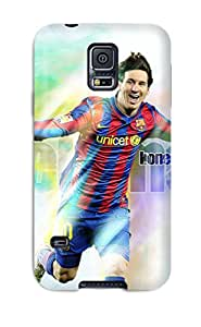ZippyDoritEduard PtECsGP4402CQRDg Case Cover Galaxy S5 Protective Case Lionel Messi Top 50 Goals
