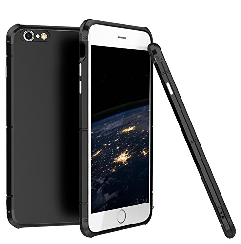 more photos 02f51 2c847 iPhone 6/6S Case,3 In 1 Aluminum Metal Bumper Frame With Hard Plastic PC  Back Cover, Full Body Shockproof Heavy Duty Protection Shell Case for Apple  ...