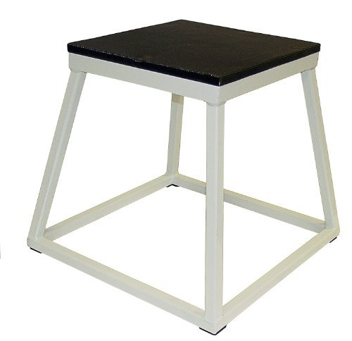 Plyometric Platform Box Set- 12'',18'',24'' White by Ader Sporting Goods (Image #2)