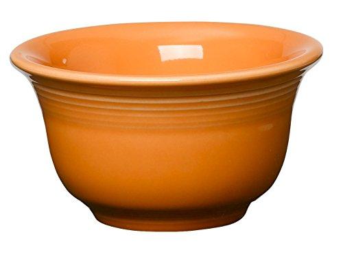 Fiesta 6-3/4-Ounce Bouillon, Tangerine (Fiesta Round Chip Dip Tray)