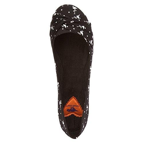 Razzo Cane Donna Myrna Black Mingo Flat 7 M