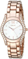 Relic Women's ZR34321 Hailey Rose Gold Watch