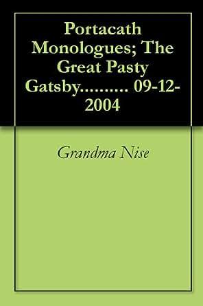 great gatsby monologue