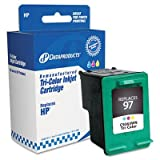Dataproducts DPC63WN Remanufactured Ink Cartridge Replacement for HP #97 (C9363WN) (Tri-Color)