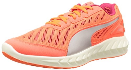 Women's Running Ignite Peach Puma Shoes Ultimate Fluo Red Competition Red Rose IHwdS