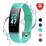 Best Fitness Gps Watch Trackers - LETSCOM Fitness Tracker with Heart Rate Monitor, Color Review