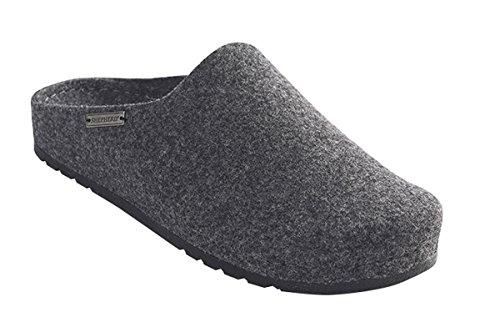 Shepherd Max Slippers Charcoal Wool Felt p1Up7Fy6kY