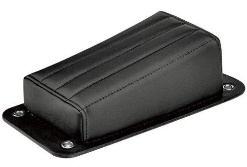 Biltwell Inc. Harlot Pillion Pad - Vertical Tuck-N-Roll PP-VIN-00-BV