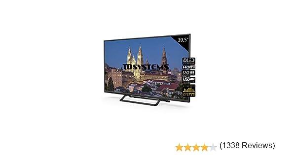 Television 39,5 Pulgadas, 3X HDMI, VGA, USB, 1100 PCI Hz, Grabador Reproductor, DVB-T2/C/S2 Modo Hotel - Televisores TD Systems K40DLX10F - TDsystems: Amazon.es ...