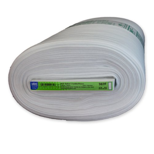 "Pellon 987F Fusible Fleece White - 45"" x 10 yards"