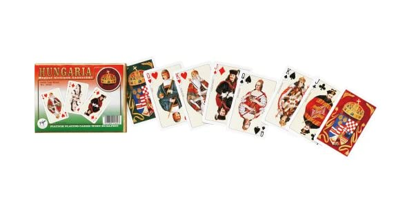 Amazon.com: hungaria Playing Cards by Piatnik 2 barajas X 55 ...