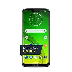 Moto G7 Power with Alexa Push-to-Talk – Unlocked – 32 GB – Marine Blue (US  Warranty) – Verizon, AT&T, T–Mobile, Sprint, Boost, Cricket, &