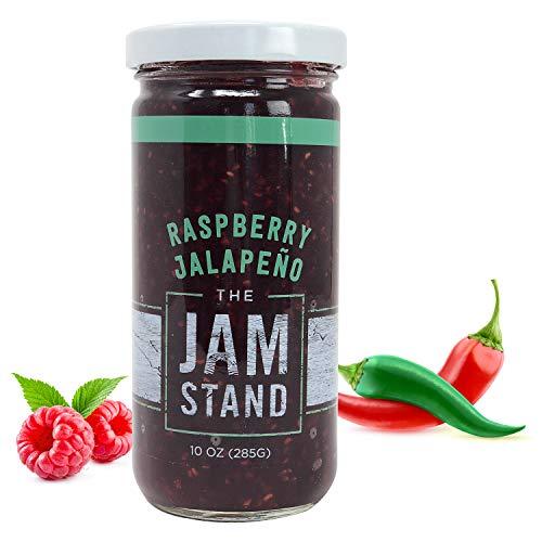 - The Jam Stand, Raspberry Jalapeño Jam, 10 oz