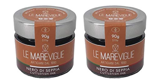 Inktvisinkt Le Mareviglie – 2 verpakkingen van 90g – Handgemaakt in Sardinië, Italië