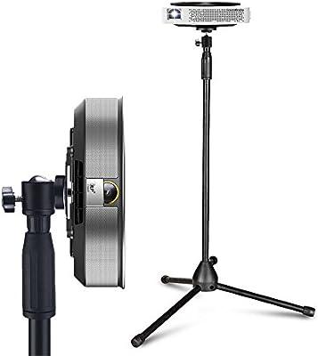 Soporte de suelo para proyector portátil, desmontable, con rótula ...