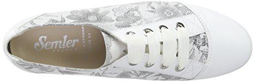Weiss Semler 010 Bianco Donna Nele Sneakers Da SqnaBZS