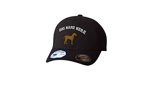 Amazon.com: Custom Flexfit Baseball Cap Weimaraner B Embroidery Dog Name Polyester Hat: Clothing