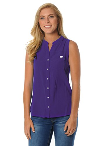 NCAA Kansas State Wildcats Women's Tunic Tank Top, X-Large, Purple