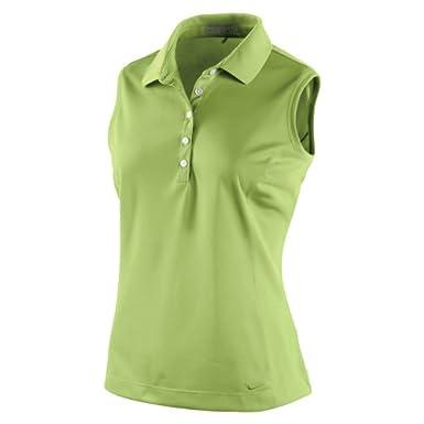 Nike Tech de la Mujer piqué sin Mangas Golf - Polo para Hombre ...