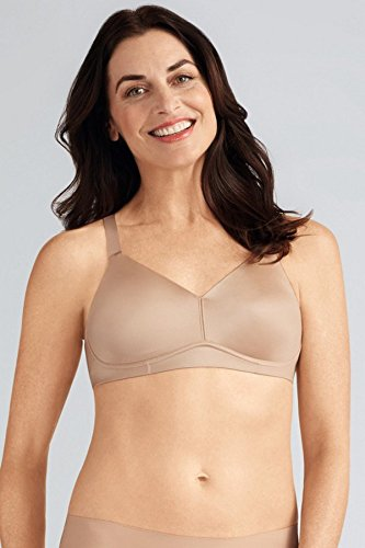 Amoena Women's Magdalena Back Smoothing Full Figure Bra, Nude, (Amoena Mastectomy Wear)