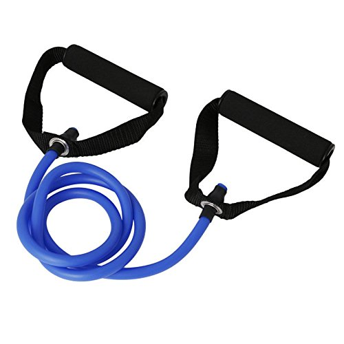 VIPASNAM-New Latex Resistance Bands Workout Exercise Pilates Yoga Fitness Tubes Pull Rope(color:blue gb-CQ1599) (Spongebob Light Pull)