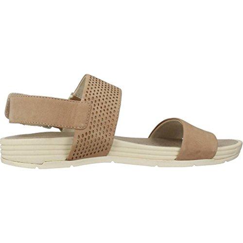 Geox Sandalias y Chanclas Para Mujer, Color Marrón, Marca, Modelo Sandalias Y Chanclas Para Mujer D Koleos Marrón marrón