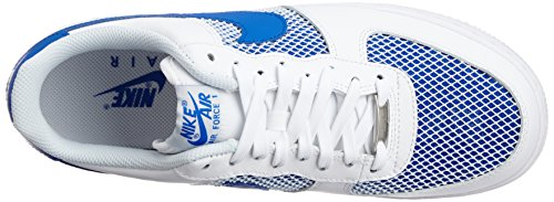 Nike - Air Force 1 07 - Color: Azzuro-Bianco - Size: 42.0