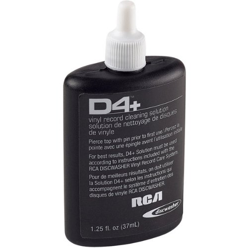 Audiovox Refill For Vinyl Record Care System. DISCWASHER 1.25 OZ D4 REFILL ()