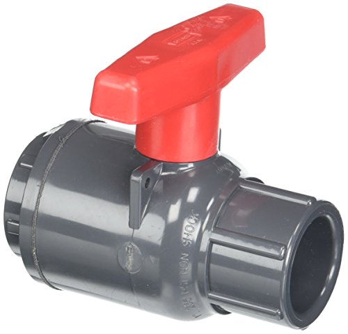 Spears 2122-010 PVC Schedule 80 Compact Ball Valves