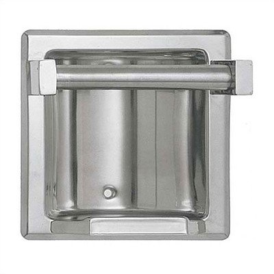 """Recessed Soap Dish with .75"""" Bar Finish: Satin, Wall Type: Standard"""
