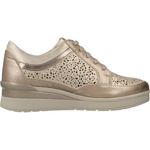 Plateado Zapatos De Color Mujer Stonefly Mujer 11 Modelo Cream Metálico Plateado z00 Stonefly Cordones Para Marca wpqXSxrHp