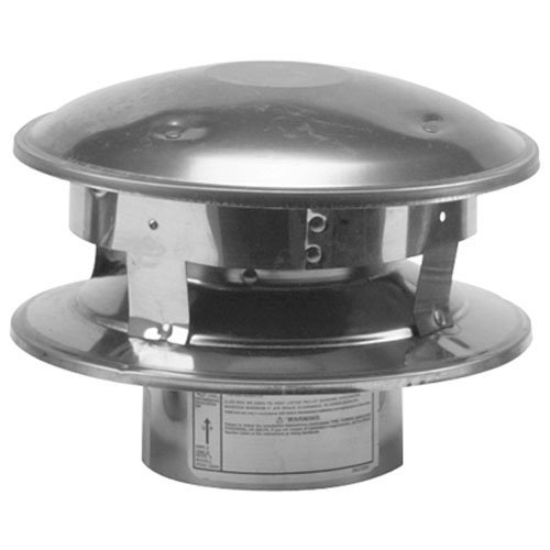SELKIRK CORP 244800 Vertical Termination Cap, 4-Inch Photo #1