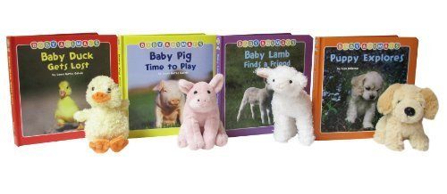 - Smithsonian Baby Barnyard Animals 4 Board Book and Stuffed Animal Pack