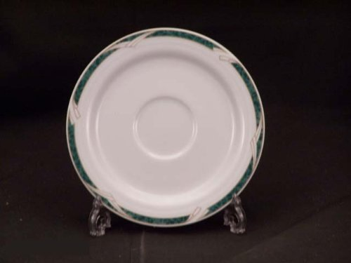 Noritake Arctic Green #4090 Saucers Only