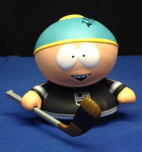 Milan Lucic La Kings South Park Cartman Bobble Head - PSA/DNA Certified - Autographed Signed Hockey Collectibles