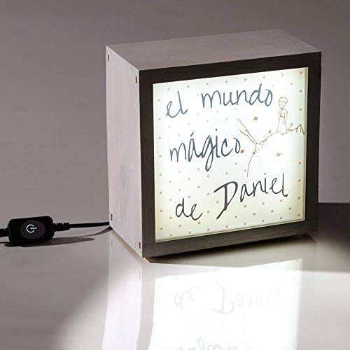 Caja de luz infantil para personalizar, regalo para niño/niña ...