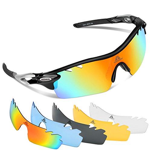 70ed063b74 30% de descuento HODGSON Gafas de sol deportivas polarizadas con 5 lentes  intercambiables para hombres