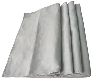 Zwipes 753 Microfiber Silver Polishing Cloth - Pack of 4