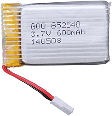 Elegiant- Batería para Drone Syma X5c X5 3.7V 600mAh 25C Lipo ...