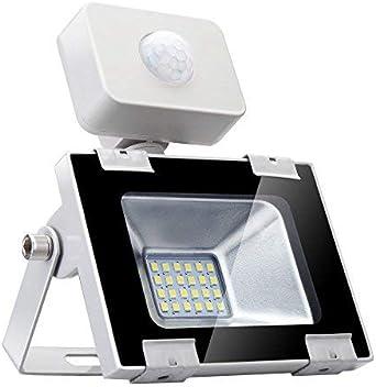 20w Foco led exterior con Sensor Movimiento ,Led Proyector para ...