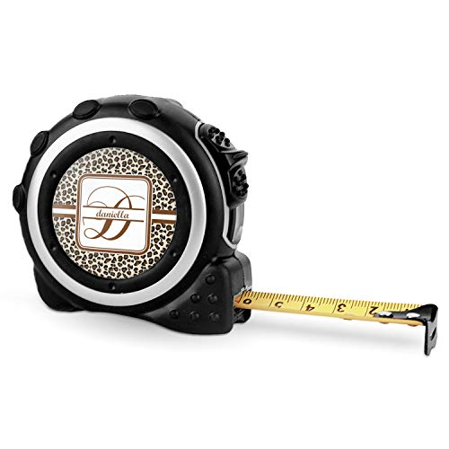(Leopard Print Tape Measure - 16 Ft (Personalized))