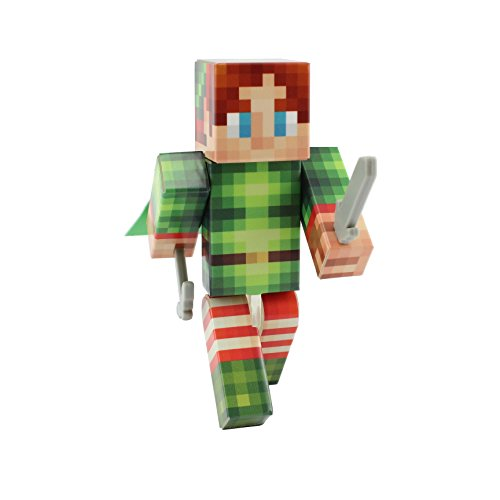 Wild Elf Costume (Elf Action Figure Toy, 4 Inch Custom Series Figurines by EnderToys)