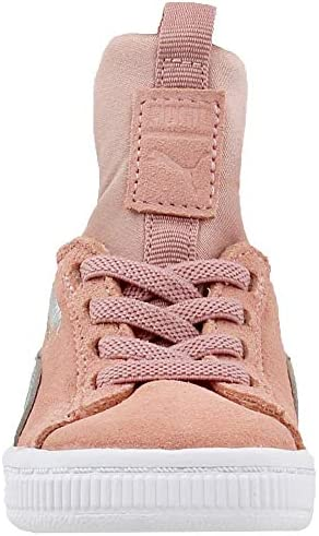 Pink Puma Suede Fierce AC Infant Sneakers Casual Girls